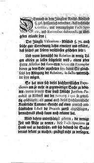 Facti Species, In Sachen Weiland Anton Pauschen, Bürgersund Wein-Händlers zu Weltzlar, Wittiben Annä Katharinä gebohrner Syberbergerin nächster Anverwanten, Wider ...