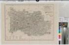 Beckum (Kreis) - Kreiskarte - 1881 - 1 : 80 000 - 41 x 57 - Druck: H. Mahlmann - Stierlin, Steuerrat; Schmeltzer, Leutnant - ergänzt 1876 von A. Weiss - B Nr. 62a