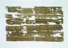 Fragment eines griechischen Papyrus