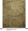 Parabel von den klugen und den törichten Jungfrauen. Karton zu den Wandbildern der Fürstengruft (Campo Santo) in Berlin