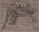 Festungsplan von Rheinfels bei St. Goar, 1:9 700, Kupferstich, um 1710