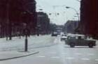 Berlin-Mitte. Hannoversche Straße mit Straßenbahn