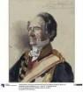 """Oberzeremonienmeister Rudolf Graf Stillfried-Alcantara. Studie zum Gemälde """"Krönung Wilhelms I. in Königsberg"""""""