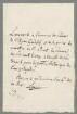 Jean-Baptiste Pierre Antoine de Monet de Lamarck (1744 - 1829) Autographen: Brief von Jean-Baptiste Pierre Antoine de Monet de Lamarck an Gandolf - BSB Autogr.Cim. Lamarck, Jean-Baptiste