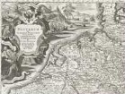 Reisekarte Mitteleuropas: Postarum seu cursorum publicorum diverticula et mansiones per Germaniam et confin privincias